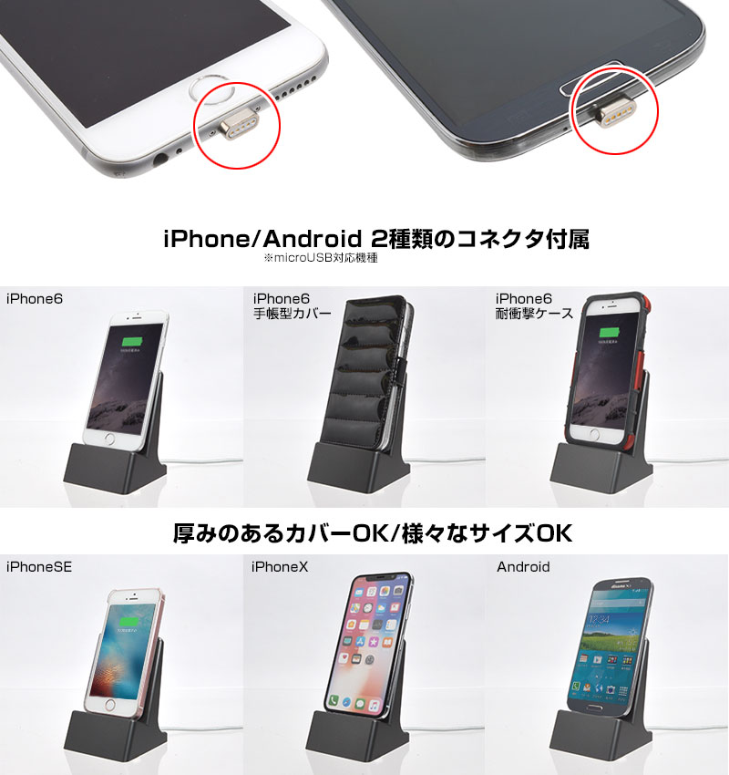 iPhone/Android両対応